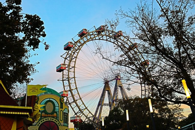 The Giant Ferries Wheel in Vienna
