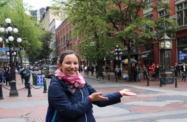 In Vancouver's historic Gastown Quarter