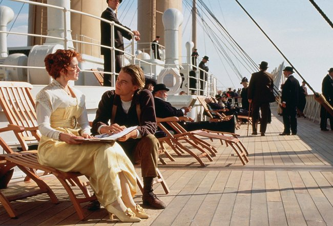 Rose and Jack. Photo: © 1997 - Paramount Pictures