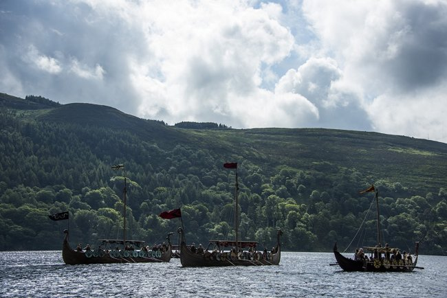 """Kattegat"" in the TV series ""Vikings"". Photo by Bernard Walsh - © 2016 History"