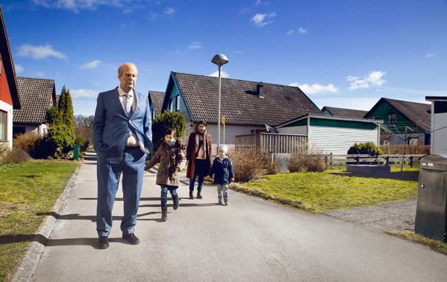 "Scene from ""A Man Called Ove"" – in my opinion, one of the best Swedish films in recent years. Photo: © 2015 Music Box Films"