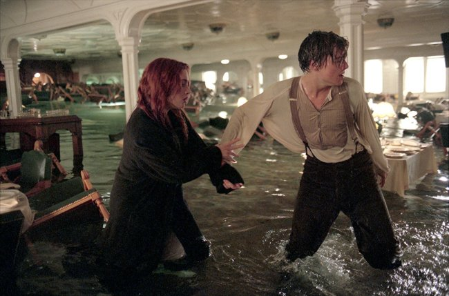 "Scene from ""Titanic"". Photo: © 1997 - Paramount Pictures"