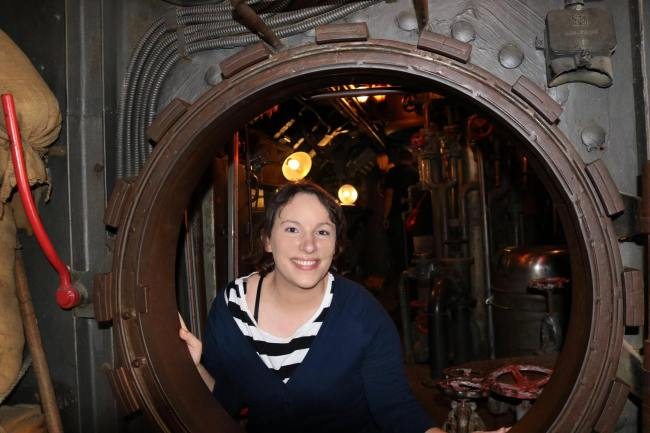 "Me in the submarine from ""Das Boot"""