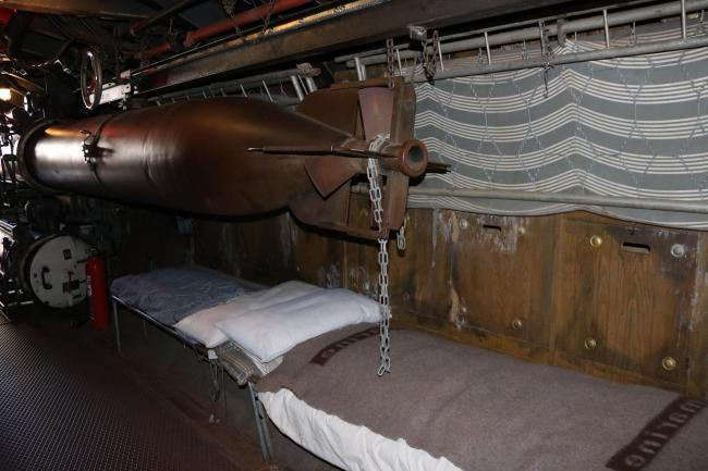 """Inside the submarine from """"Das Boot"""""""