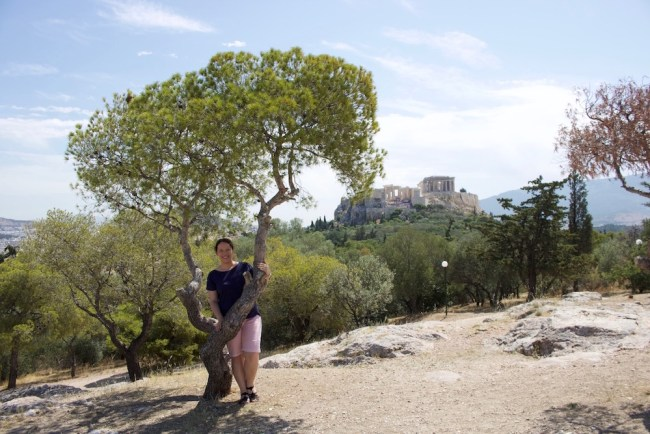 Me in Athens, Greece