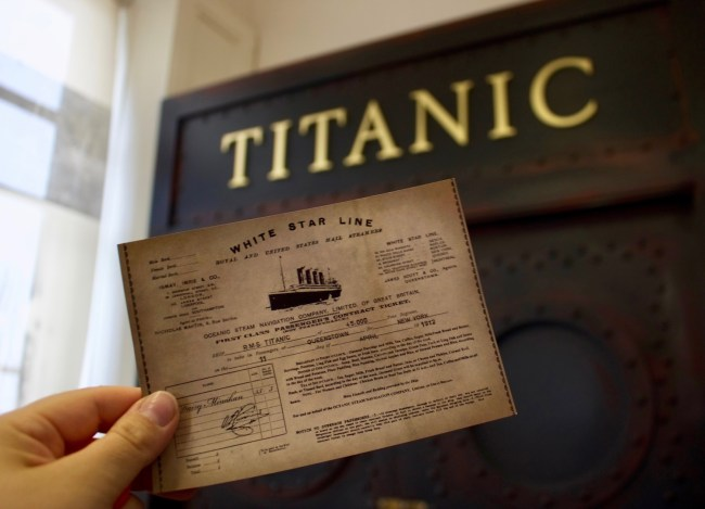 At the Titanic Experience Cobh, Ireland. Photo: Sonja Irani / FilmFanTravel.com