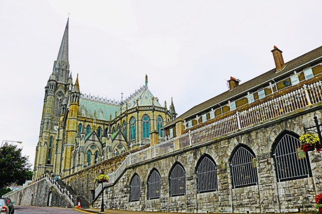 St Colman's Cathedral in Cobh, Ireland. Photo: Sonja Irani / FilmFanTravel.com