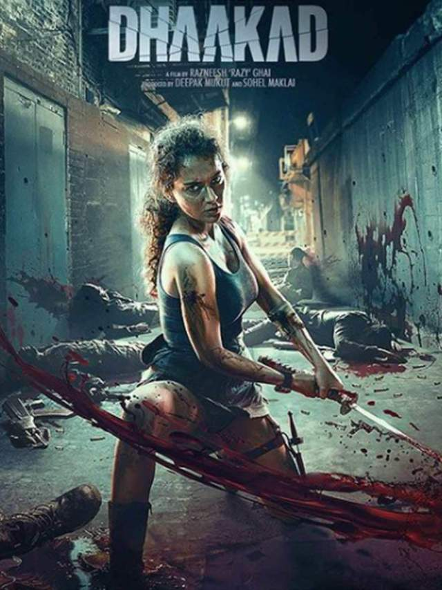 Kangana Ranaut announces the release date of Dhaakad with a new poster |  Filmfare.com