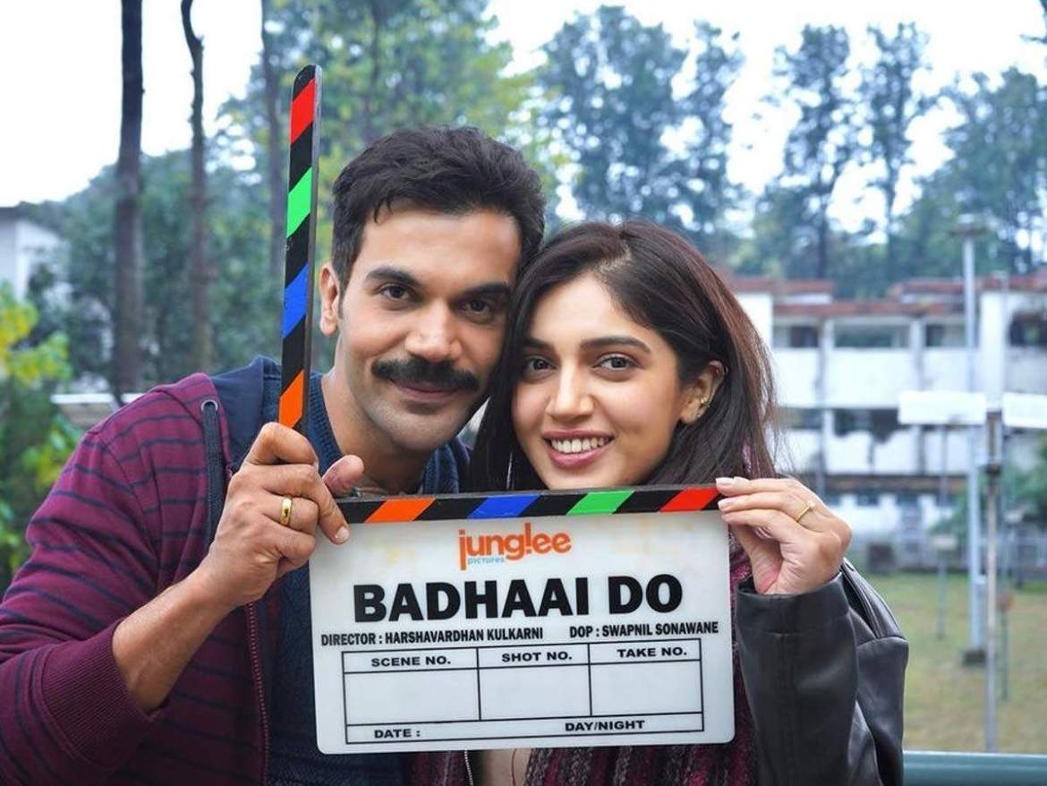 Bhumi Pednekar engages in a zero wastage policy on the sets of Badhaai Do