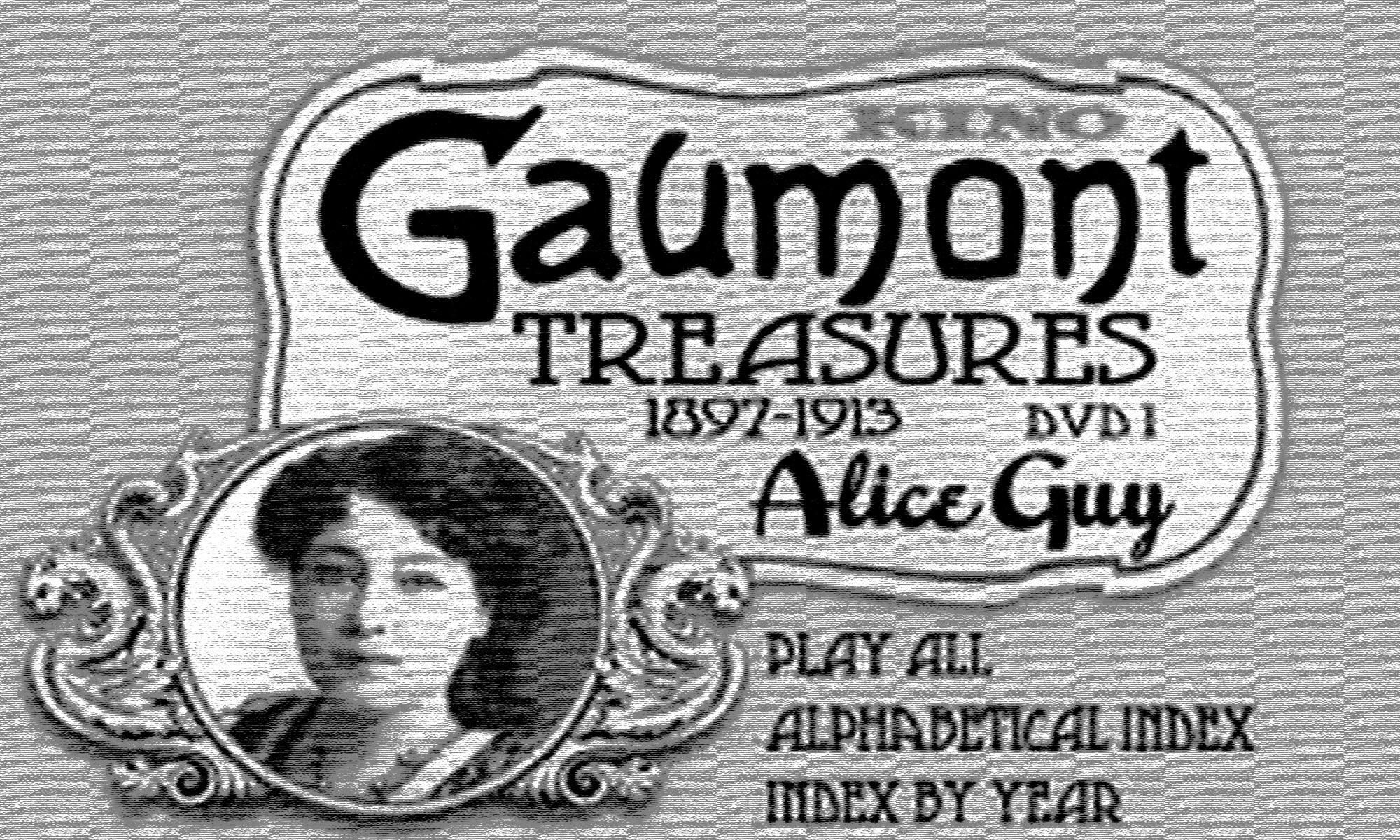 Reel Jersey Girl Alice Guy