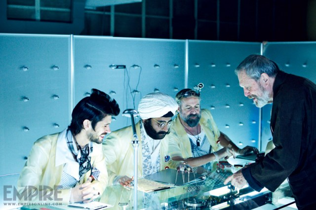 Terry Gilliam Directs THE ZERO THEOREM