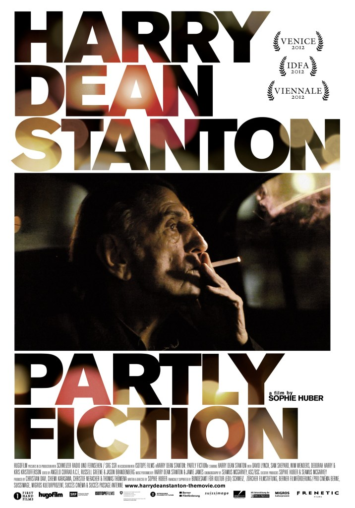 Harry Dean Stanton: Partly Fiction - Festival Poster