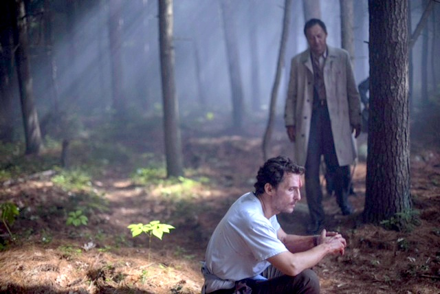 The Sea of Trees with Ken Watanabe and Matthew McConaughey.
