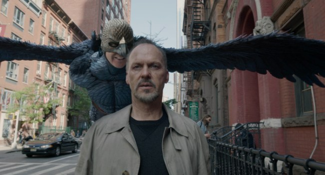 Michael Keaton as Birdman