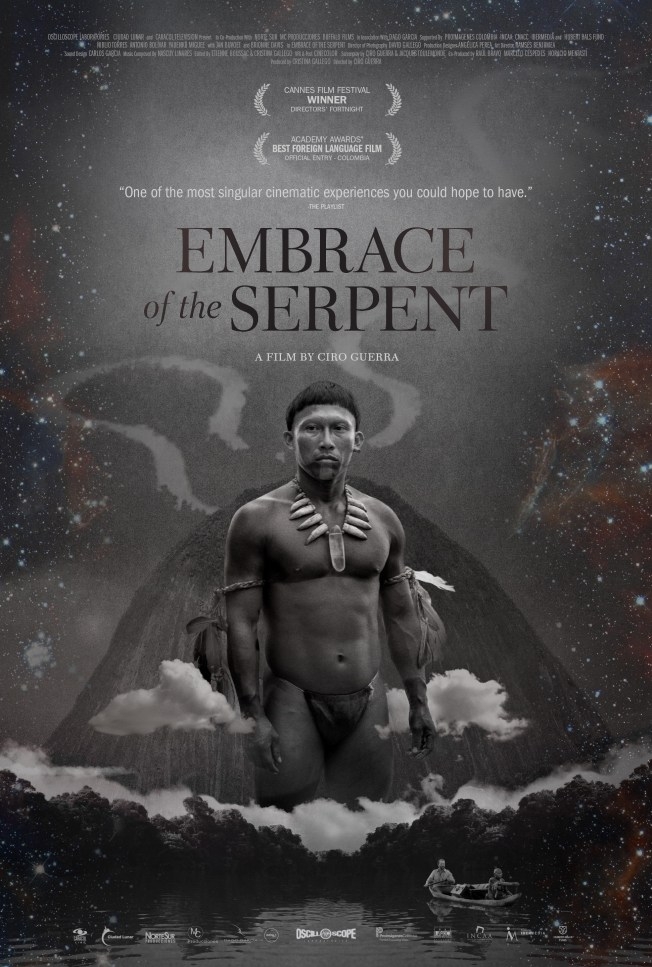 embrace the serpent poster
