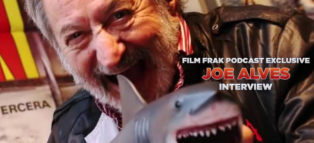 FILM FRAK PODCAST INTERVIEW SPECIAL: THE JAWS 43RD ANNIVERSARY STARRING JOE ALVES