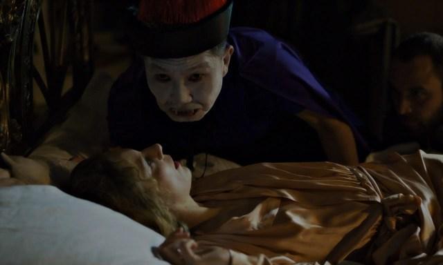Lilith Stangenberg, Kyung Taek Lie, Alexandre Koberidze in Blutsauger | Bloodsuckers by Julian Radlmaier | DEU 2021, Encounters | © faktura film