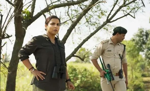 Sherni - Vidya & Police