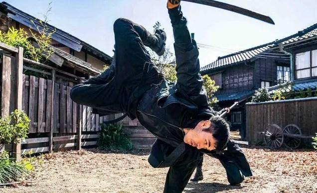 Snake Eyes - Sword fight