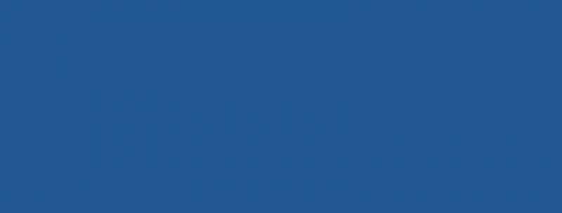 blåt banner