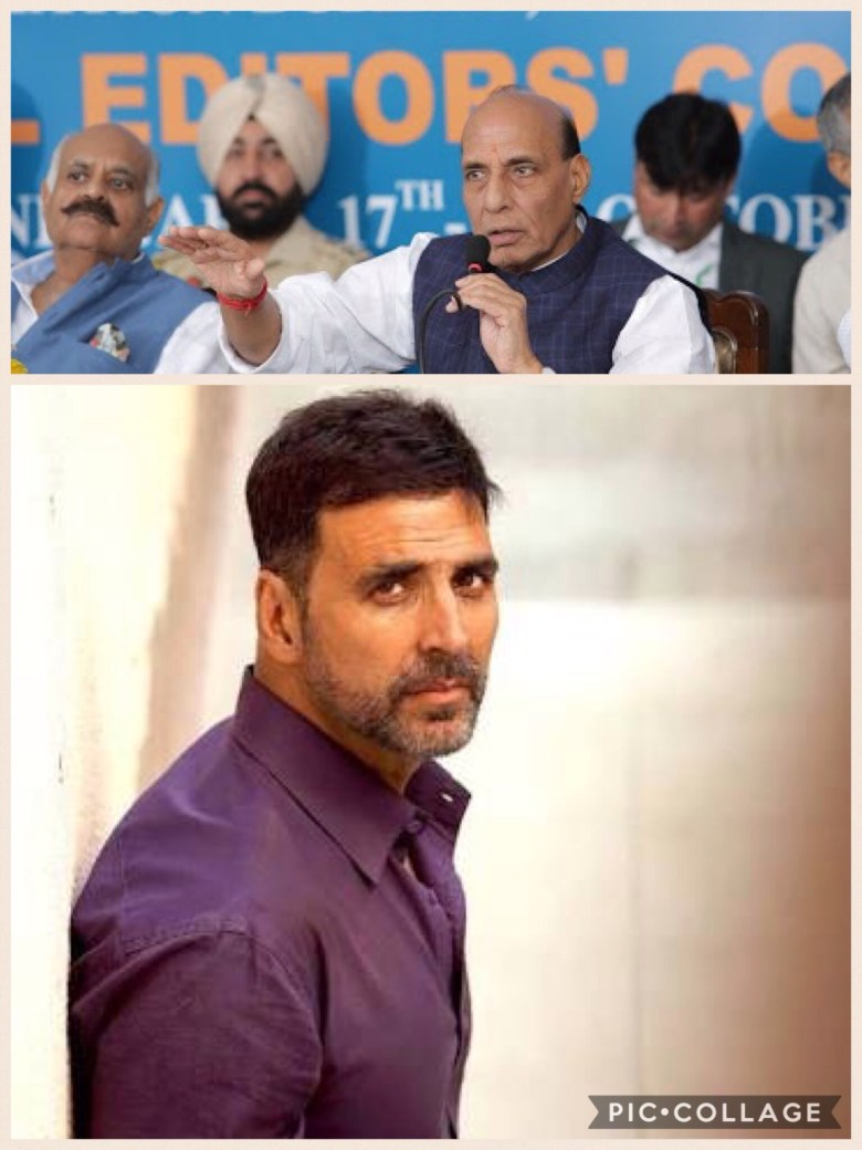Akshay Kumar Donates Money To Martyrs Families, Home Minister Says Thank You!