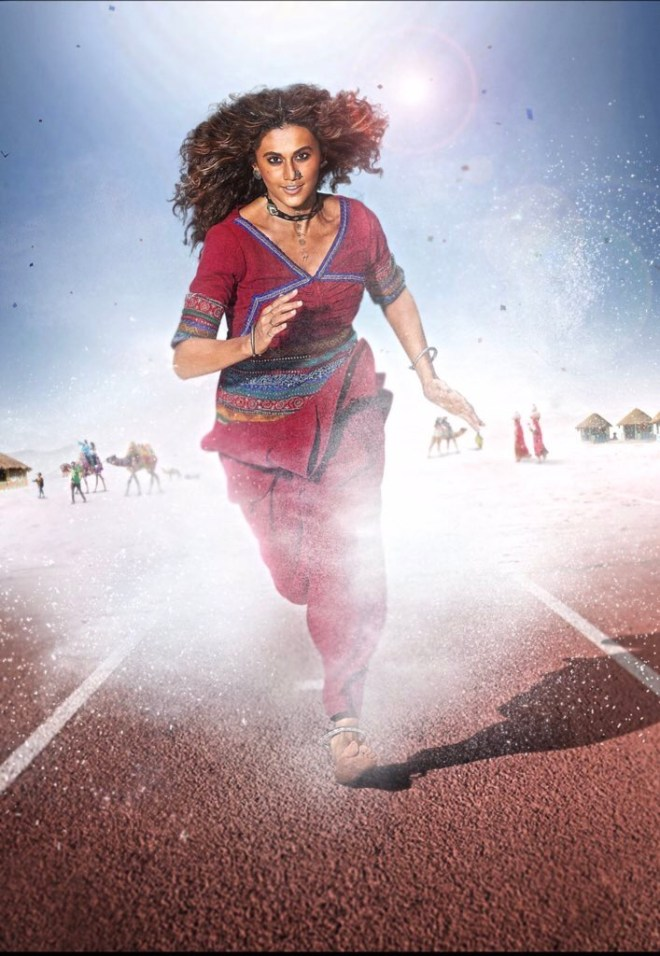 Taapsee Pannu's First Look For 'Rashmi Rocket' Goes Viral