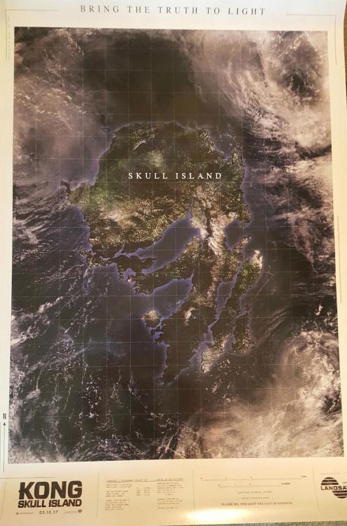 Harta Normale e Ishullit te Kafkes