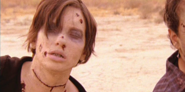 Myself as a zombie in Among the Dead (2007)