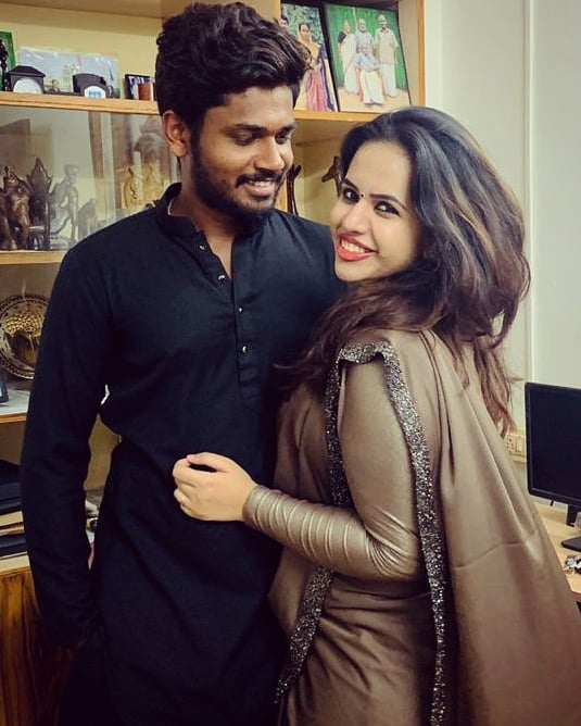 14+ beautiful photos of Charulatha Samson, wife of cricketer Sanju Samson 12