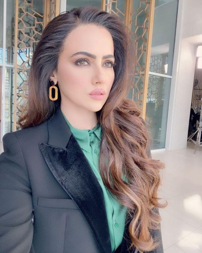 43+ Lovely Photos of Sana Khan 28