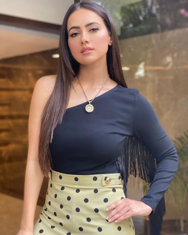 43+ Lovely Photos of Sana Khan 114
