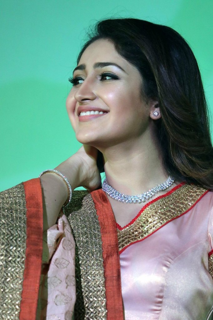 72+ Charming Photos of Sayesha Saigal 105