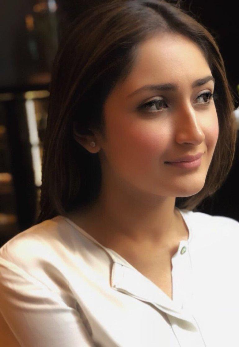 72+ Charming Photos of Sayesha Saigal 115