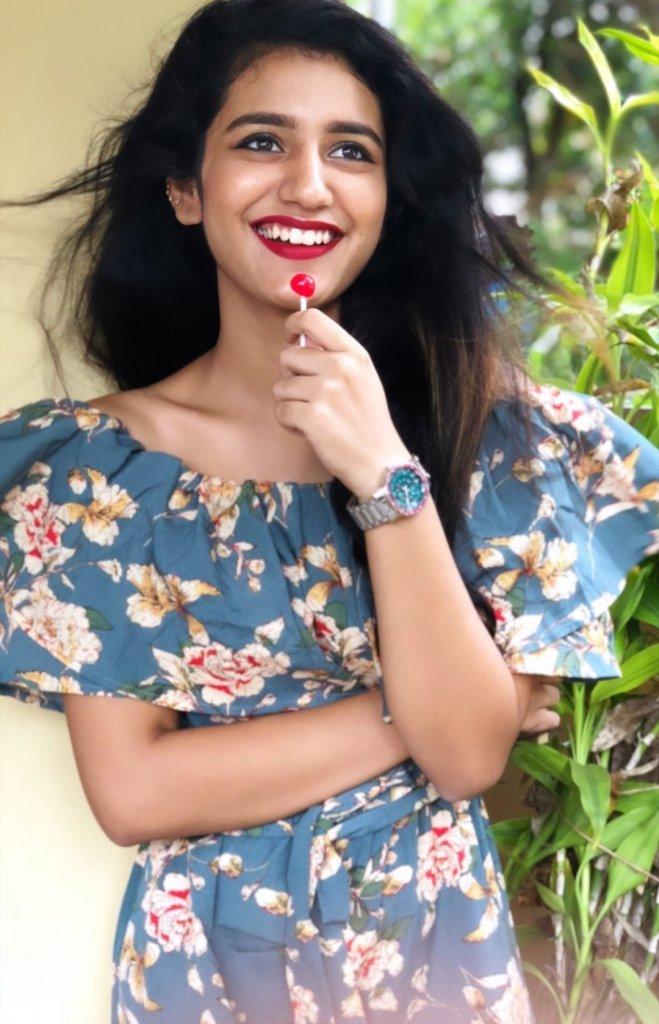 108+ Cute Photos of Priya Prakash Varrier 174