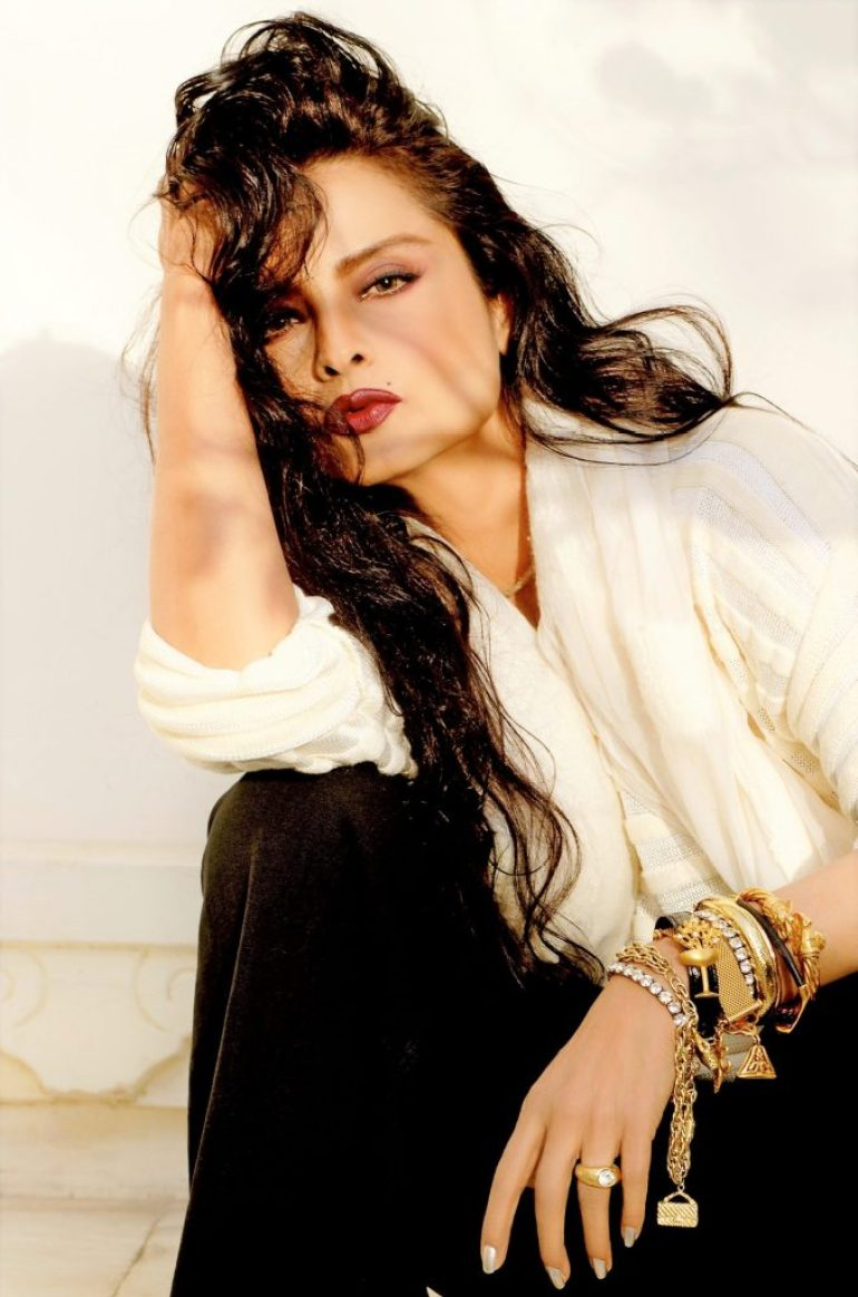 Beautiful Photos of Rekha 6