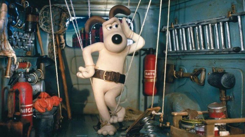 Szenenbild aus «Wallace und Gromit auf der Jagd nach den Riesenkaninchen»