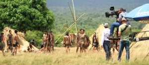 A film set in Africa