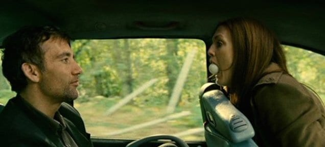 A screenshot of a long take from the movie Children of Men.