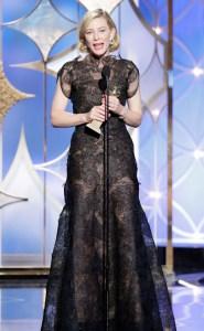 Blanchett. Drama?