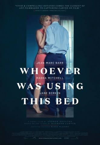Whoever Was Using This Bed - Poster