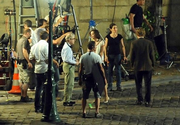 Behind-the-Scenes of Midnight in Paris  Image Source: https://nighthawknews.wordpress.com/