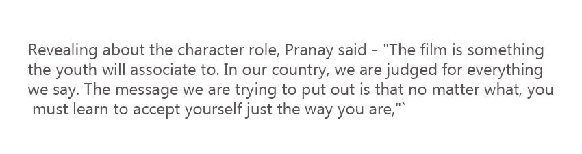 film actor statement, filmmakers fans