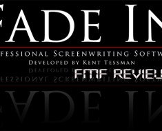 Fade In Script writing software review
