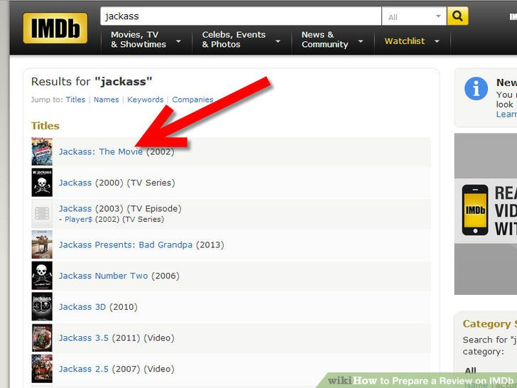 8 easier Steps for Writing a Movie Review on IMDb