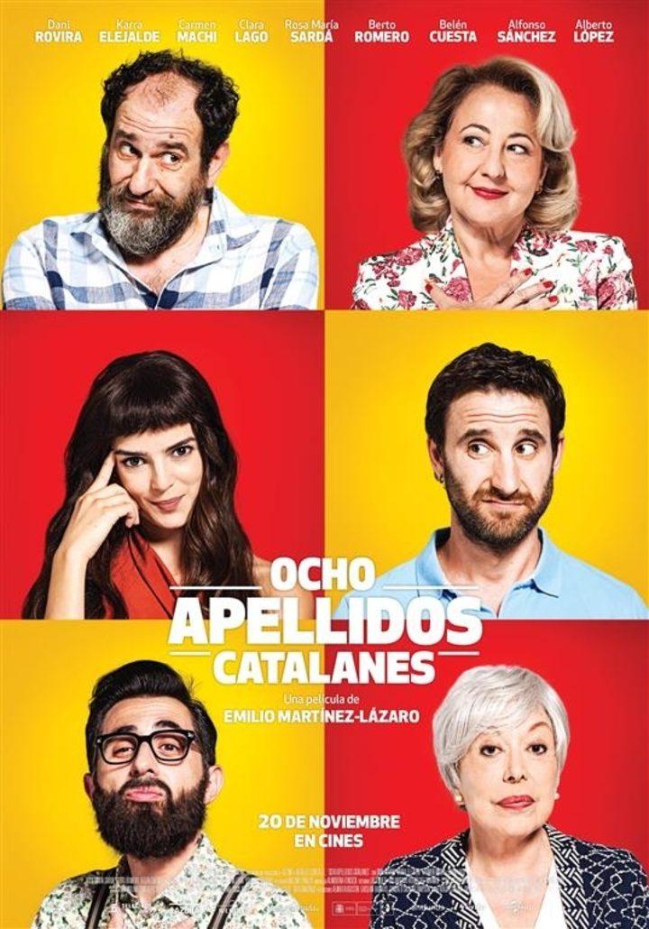 Poster do filme Ocho Apellidos Catalanes