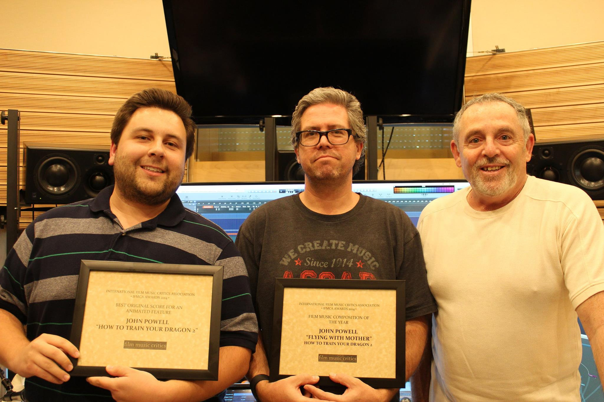 John Powell receives IFMCA Awards for How to Train Your Dragon 2