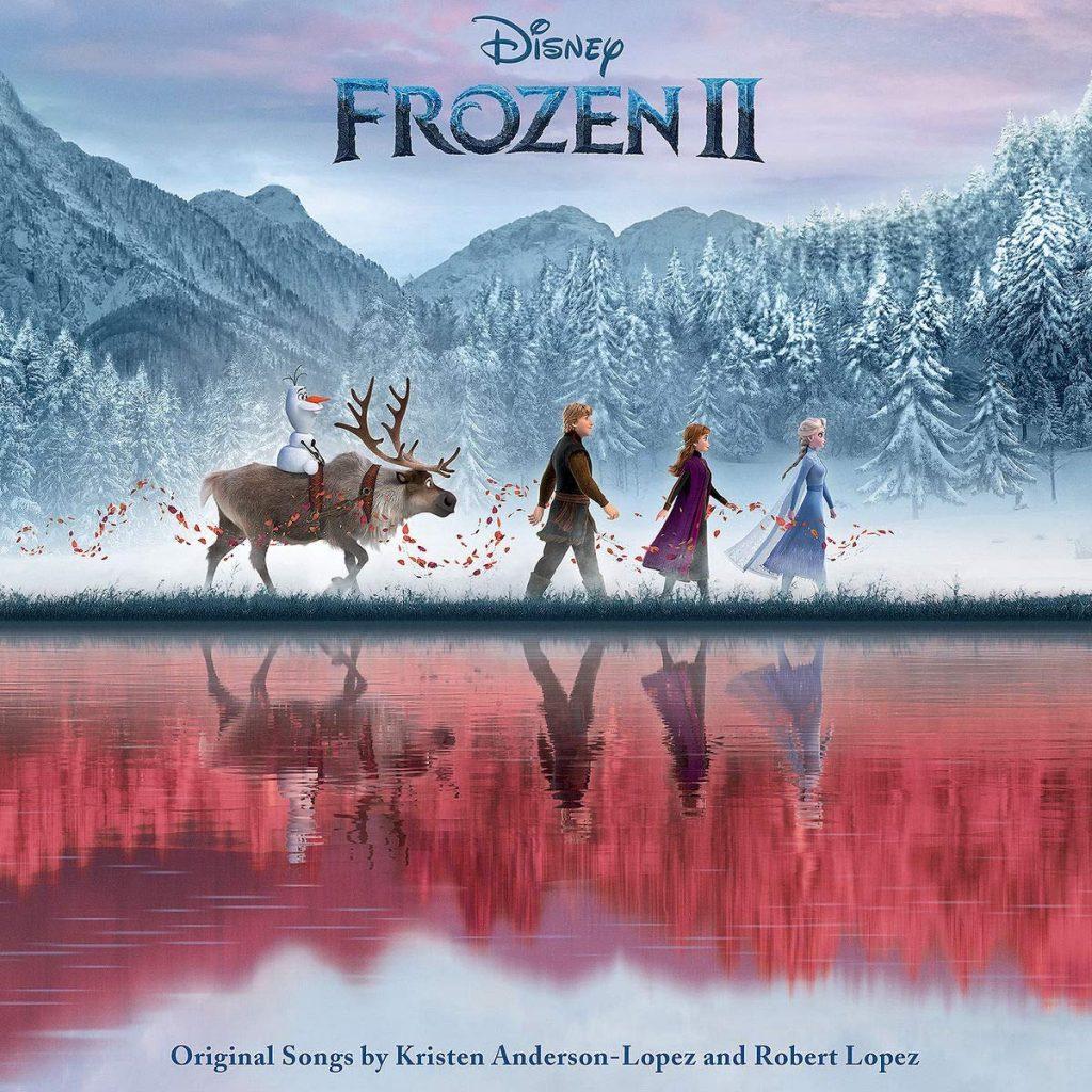 Capa alternativa da trilha sonora de Frozen 2.