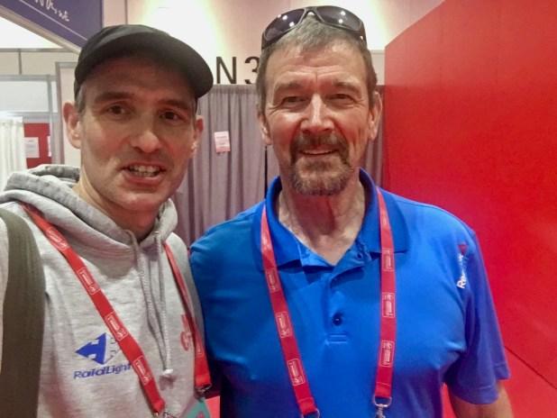 London Marathon 2018 Steve Jones