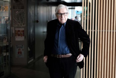 Paolo Taviani. Foto Óscar Fernández Orengo