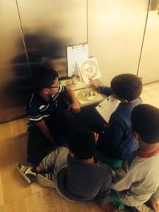 Visita de l'Escola Drassanes el curs 2013-14